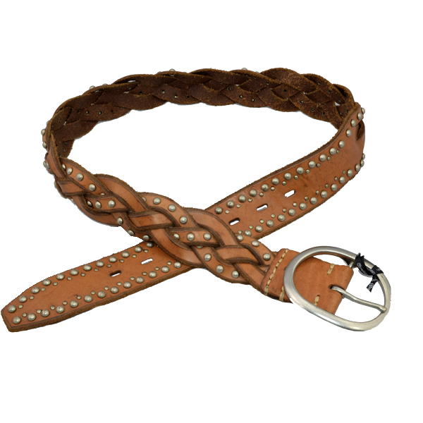 Ladies Leather Plaited Belt- China Wholesale Leather Belts Manufacturer 1999f9a812